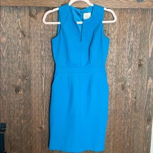 J Crew Suiting Dark Teal Dress